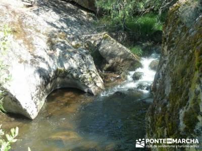 Las Pesquerías Reales - Senderismo Segovia (Ruta de las Pesquerías Reales); excursiones a la monta